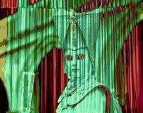 Máscaras e pesadelo do medo ilustração do vetor