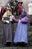 Máscaras e trajes foto de stock royalty free