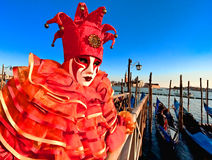 Máscaras en Venecia, Italia Imagenes de archivo