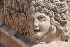 Máscaras gregas cinzeladas Imagens de Stock Royalty Free