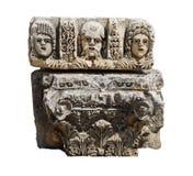 Máscaras gregas cinzeladas Fotografia de Stock Royalty Free