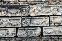 Máscaras gregas do teatro Fotos de Stock Royalty Free