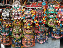 Máscaras hermosas Foto de archivo