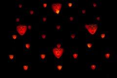 Máscaras ligeras de Bwindi - luz 2011 del artista Fotos de archivo