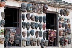 Máscaras nepalesas fotos de archivo libres de regalías