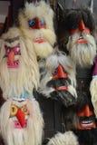 Máscaras no mercado para a venda imagem de stock royalty free