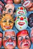 Máscaras para a venda à vista da celebração Fotos de Stock Royalty Free
