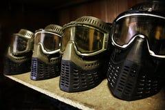 Máscaras protetoras Imagens de Stock Royalty Free