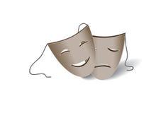 Máscaras teatrais Fotografia de Stock Royalty Free