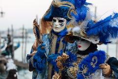Máscaras venecianas Imagen de archivo