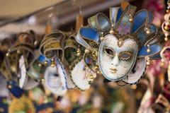 Máscaras venecianas Fotografía de archivo