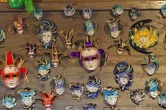 Máscaras venecianas Imagen de archivo libre de regalías