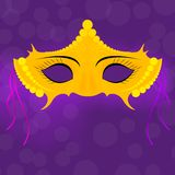 Máscaras venecianas del carnaval Celebración y diversión stock de ilustración