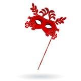 Máscaras venecianas del carnaval Celebración y diversión Imagen de archivo libre de regalías