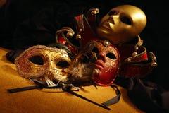 Máscaras Venetian Foto de Stock Royalty Free