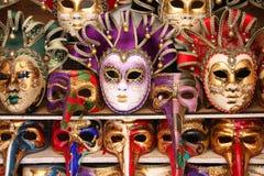 Máscaras Venetian imagem de stock
