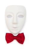 Máscaras y pajaritas aisladas Foto de archivo