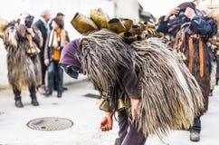 Máscaras y tradición Foto de archivo libre de regalías