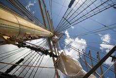 Mástil alto de la nave Imágenes de archivo libres de regalías