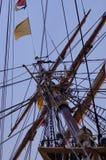Mástil alto de la nave fotografía de archivo libre de regalías