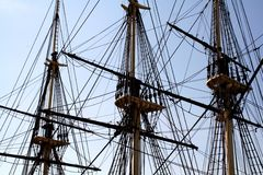 Mástil alto de la nave Foto de archivo