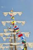 Mástil de la nave alta Imagen de archivo libre de regalías