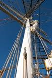 Mástil de un marinero Fotografía de archivo