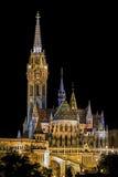 Mátyás-templom in Budapest Hungary Stock Photo