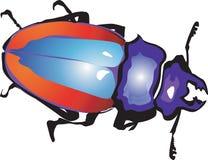 Mâle-Coléoptère illustration de vecteur