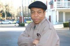 Mâle d'Afro-américain Photographie stock libre de droits