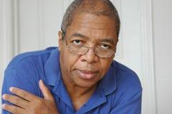 Mâle d'Afro-américain. Image stock