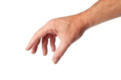mâle de main Photos libres de droits
