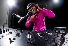 Mâle DJ Image libre de droits