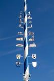 Mât bavarois Photo libre de droits