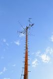 Mât d'antenne Photos stock