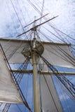 Mât de bateau Photographie stock libre de droits