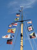 Mât de drapeau Images stock