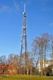 Mât de telecomunications d'antenne de téléphone Photos stock