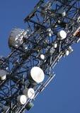 Mât de transmissions Photos libres de droits