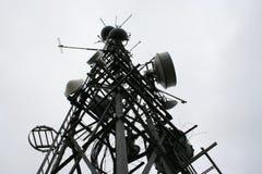 Mât de transmissions Images stock