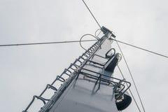 Mât du ferry-boat Photographie stock libre de droits