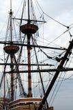 Mât grand de bateau Images libres de droits