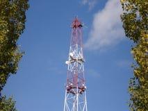 Mât par radio Image stock