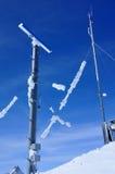 Mâts de radar Image libre de droits