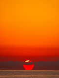 Méditerranean sunset Stock Photography