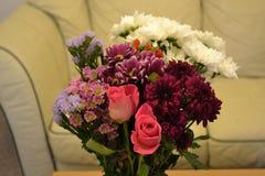mój dom bukietów kwiaty zdjęcia royalty free