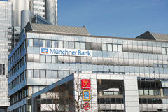 Münchner Bank Royalty Free Stock Photo