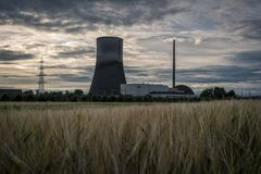 """MÃœLHEIM-KÃ """"RLICH,德国, 2017年6月30日:diseused核发电站MÃœLHEIM-KÃ """"RLICH 免版税库存图片"""