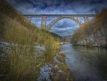 MÃ ¼ η γέφυρα Στοκ Εικόνες
