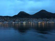 MÃ¥løy/Maloy,挪威 免版税库存图片